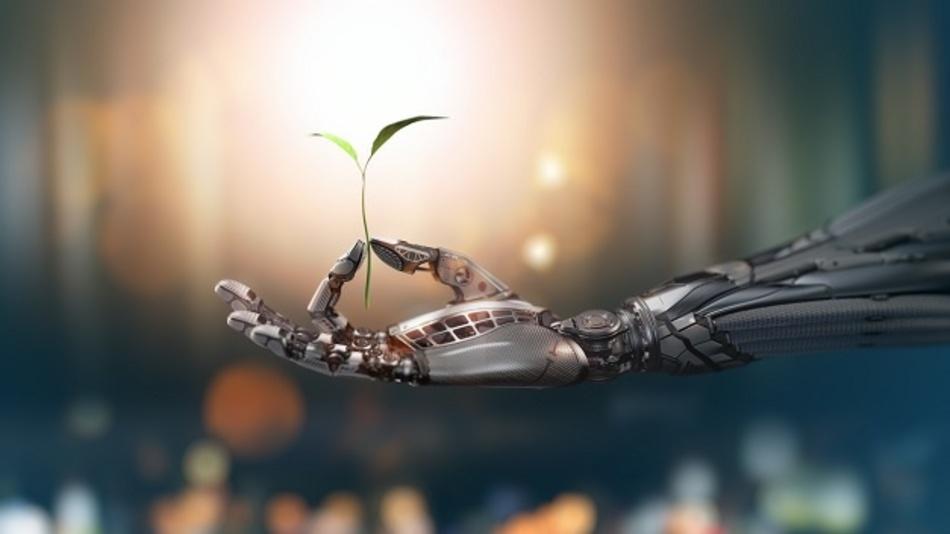 Der von Forschern der ETH Zürich entwickelte Tastsensor ist ein Schritt in Richtung empfindliche »Roboterhaut«.