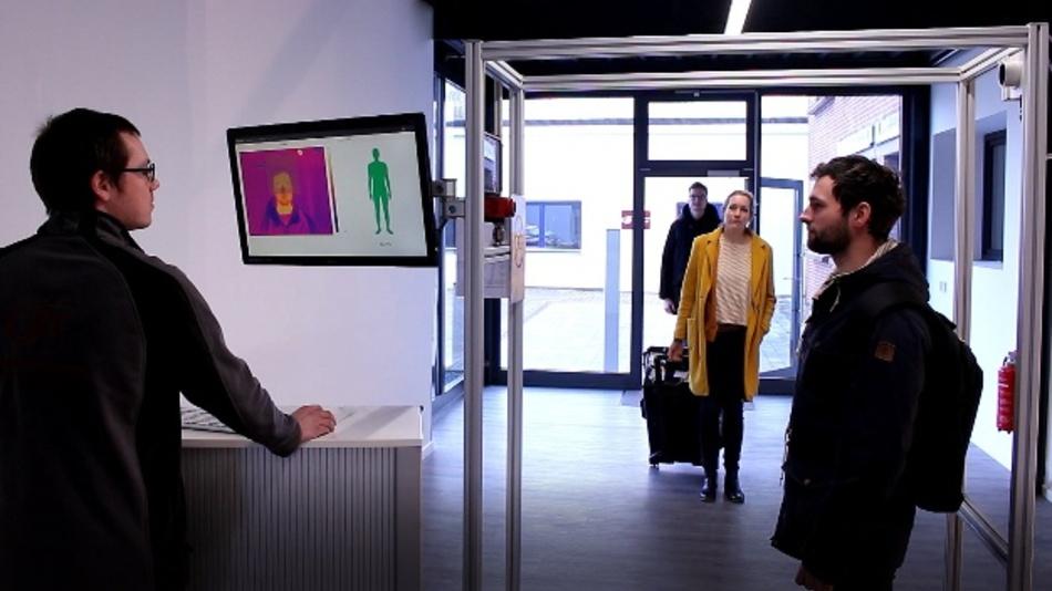 """Schnelles Fiebermessen durch """"FebriScan"""" mit hoher Präzision"""