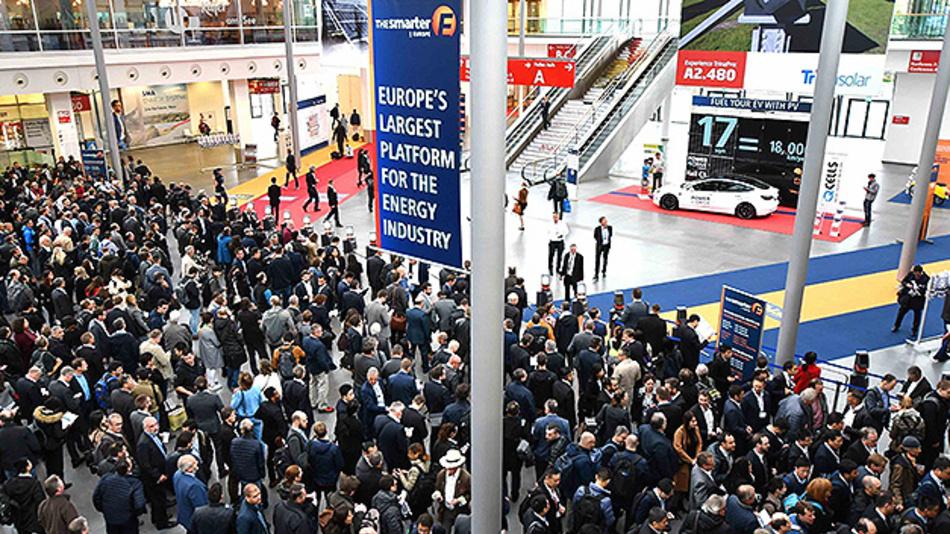 The smarter e Europe wird 2021 wieder in München stattfinden.