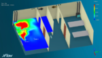 Simulation vermeidet Corona-Kontaminationen