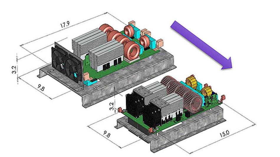 BOM-Kosten und Bauraum sollen mit den neuen SiC-Bausteinen weiter sinken.