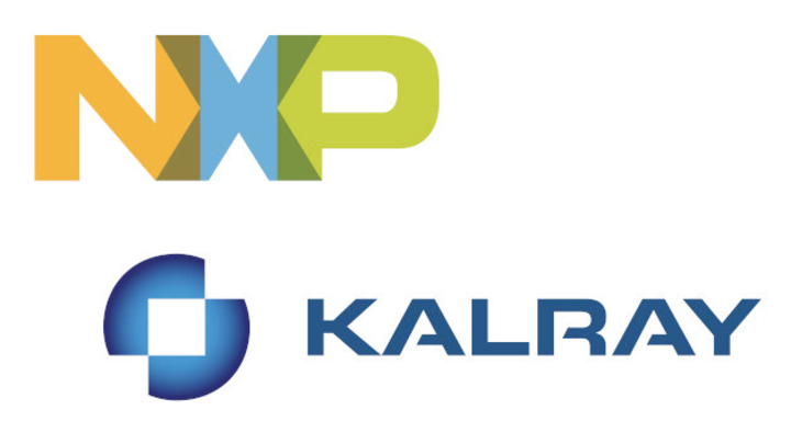 Logos von NXP und Kalray