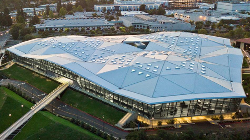 Die Konzernzentrale von Nvidia in Santa Clara, CA.