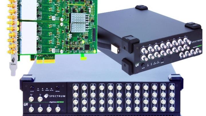 Elf neue Digitizer mit bis zu 5MSample/s – wahlweise als PCIe-Karte oder als Stand-alone-Messbox