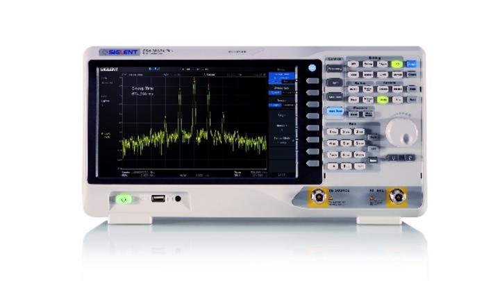 Das Spektrumanalysator-Modell SSA3032X von Siglent bietet eine Spitzenfrequenz von 7,5GHz.