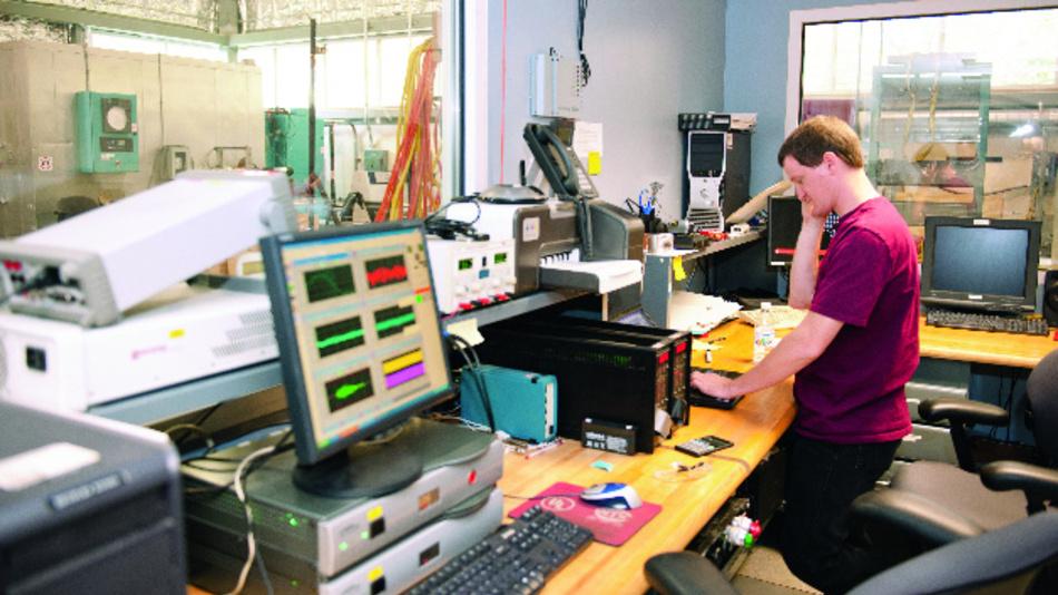 Bild 1: Blick ins Security Lab von UL in Neu-Isenburg.