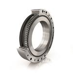 Das Schrägnadellager XZU von Schaeffler kommt in Leichtbau-robotern und  kollaborativen  Robotern sowohl als Gelenkarmlager zum  Einsatz als auch als  Hauptlagerung für  das Präzisions- getriebe RTWH.