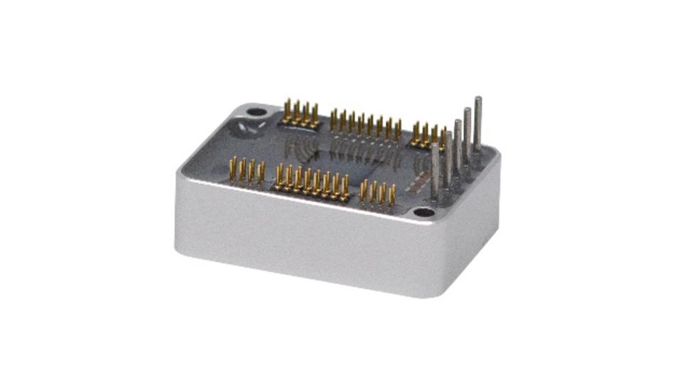 Nur 36,8 mm x 26,8 mm x 11,1 mm groß ist das Servocontroller-Modul TMCM-1617.