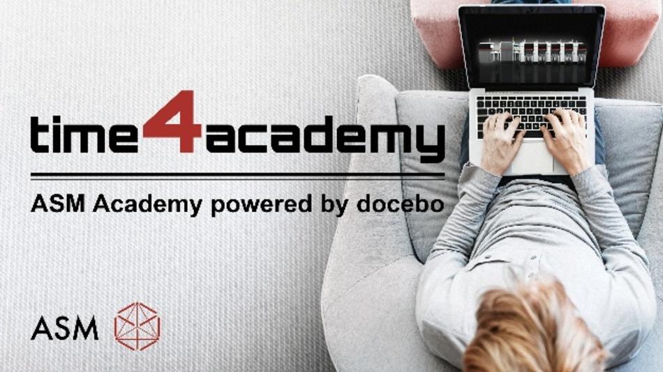 """Mit """"Time4Academy"""" bietet ASM Kunden und Partner die Möglichkeit, sich digital über die SMT-Fertigung weiterzubilden."""