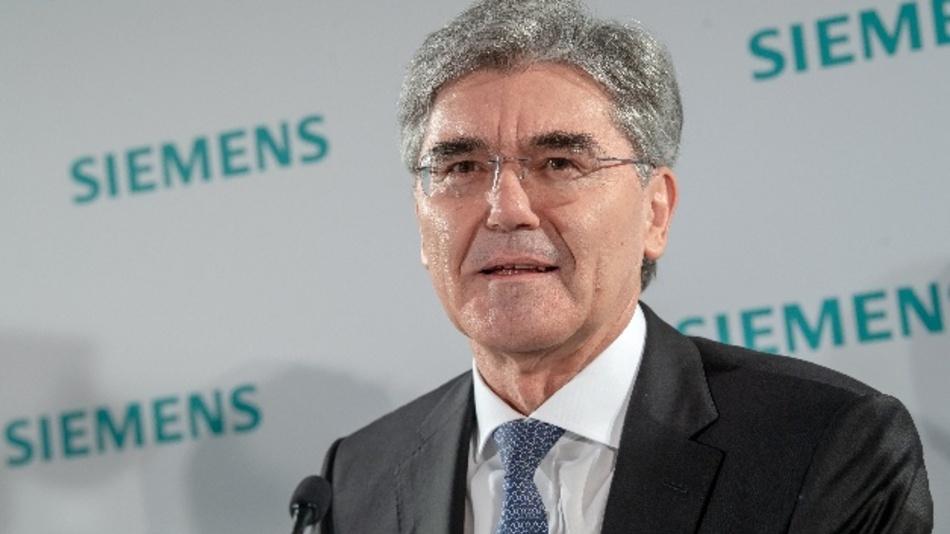 Joe Kaeser, Vorstandsvorsitzender von Siemens
