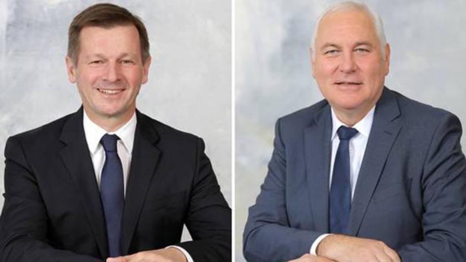 Dr. Martin Gall und Franz Haslinger leiten künftig den Bordnetzhersteller Dräxlmaier.