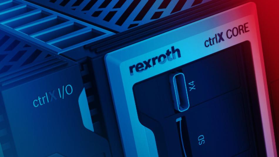 Das neue Herzstück der Automatisierungstechnik von Bosch Rexroth: die Automatisierungsplattform »ctrlX Automation«