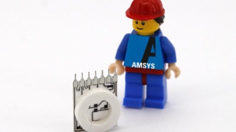 Der keramische Drucksensor ME800 von Amsys ist extrem medienresistent und im Vergleich zu herkömmlichen Transmittern klein und kompakt.
