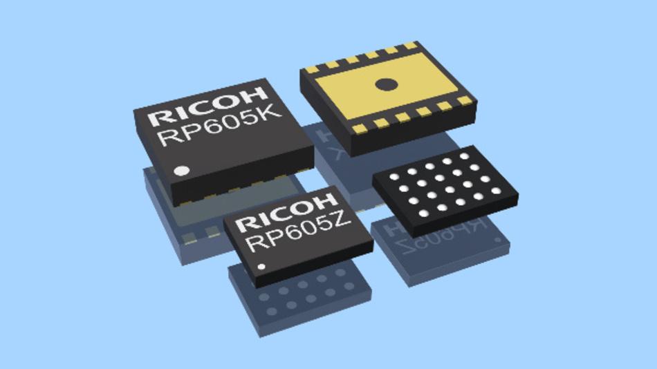 Ricoh bringt Buck-Boost-Gleichspannungswandler mit 300 nA Ruhestrom für IoT-Geräte und Wearables auf den Markt.