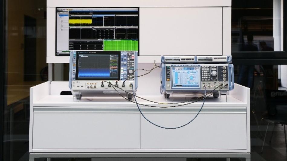 Für 5G-Basisstationen bietet Rohde & Schwarz HF-Testlösungen für die 5G-Frequenzbereiche FR1 (450 MHz - 7,125 GHz) und FR2 bis 44 GHz.