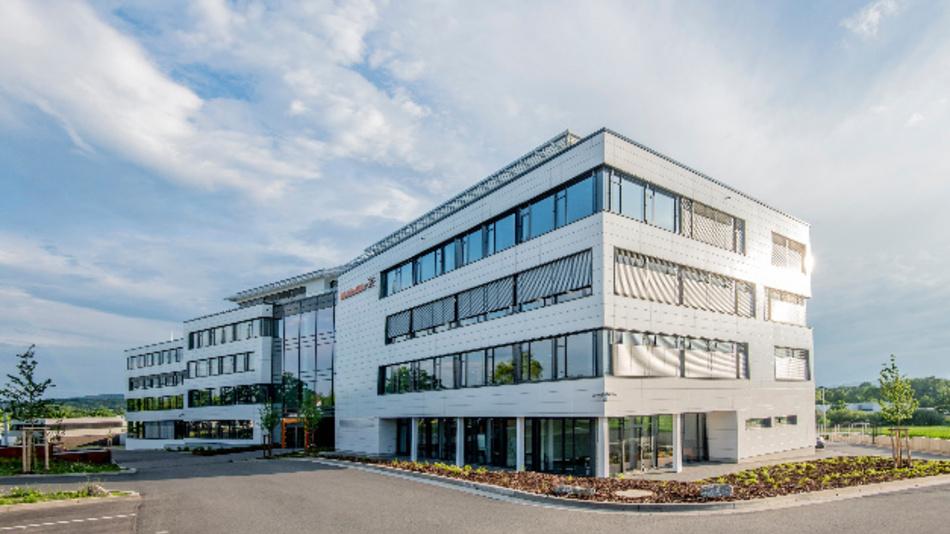 Leichtes Wachstum der Mitarbeiterzahlen nicht nur am Sitz von Weidmüller in Detmold.