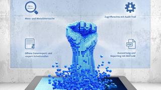 IPEcloud MDM – Messdatenmanagement und -simulation mit MATLAB