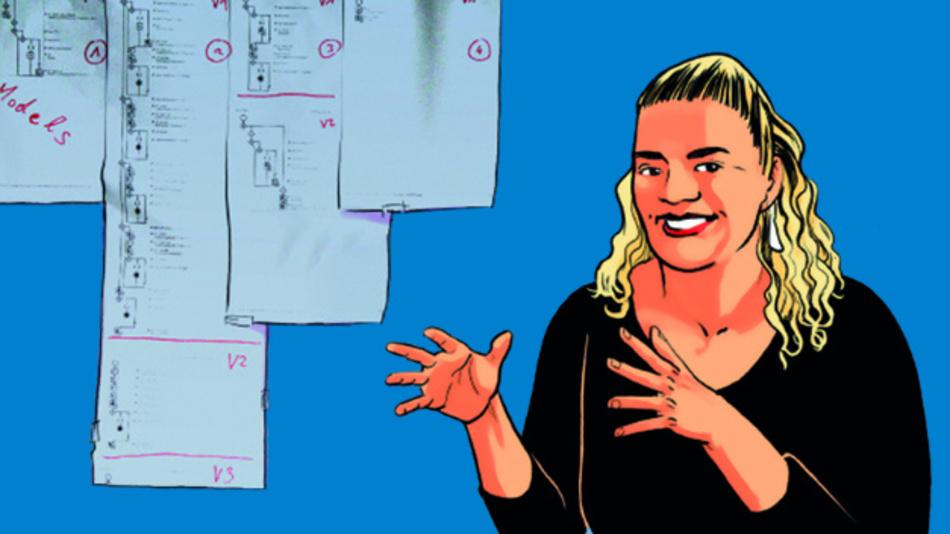 Die Informatikerin Stefanie Rinerle-Ma der Uni Wien forscht an digitalen Tools, die das Leben leichter machen.