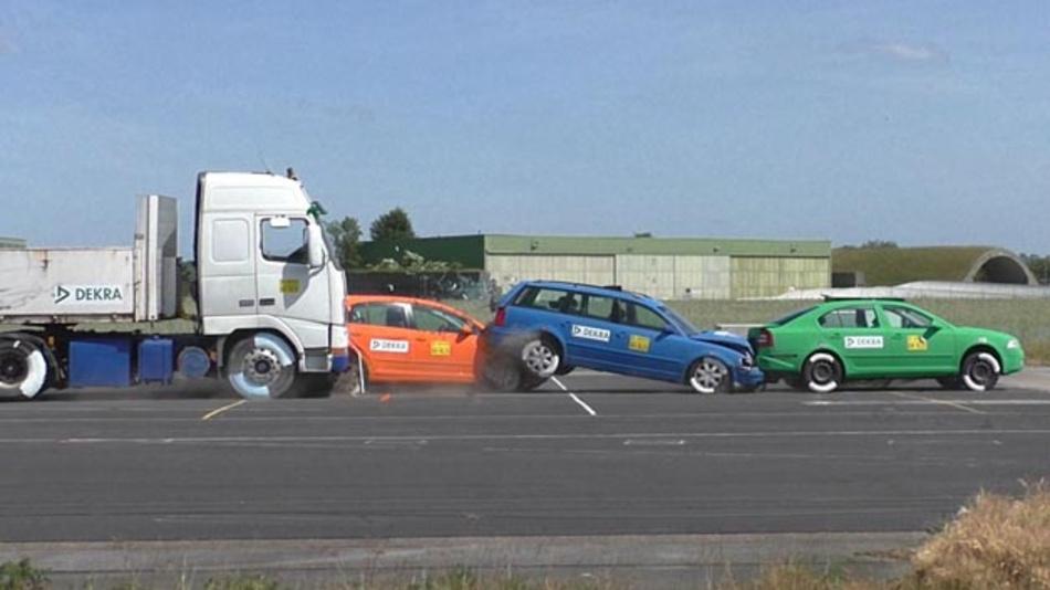 Dekra hat sich dem Euro NCAP angeschlossen und unterstützt die Arbeitsgruppe zur Lkw-Sicherheit.