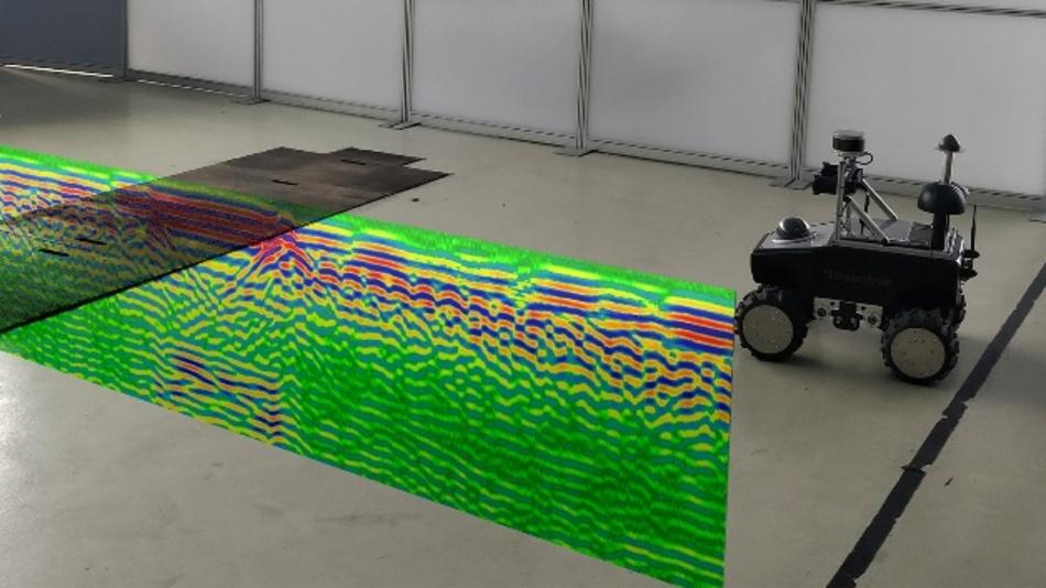 Mobile Roboter und andere Fahrzeuge sollen anhand der Radardaten des Untergrunds navigieren.