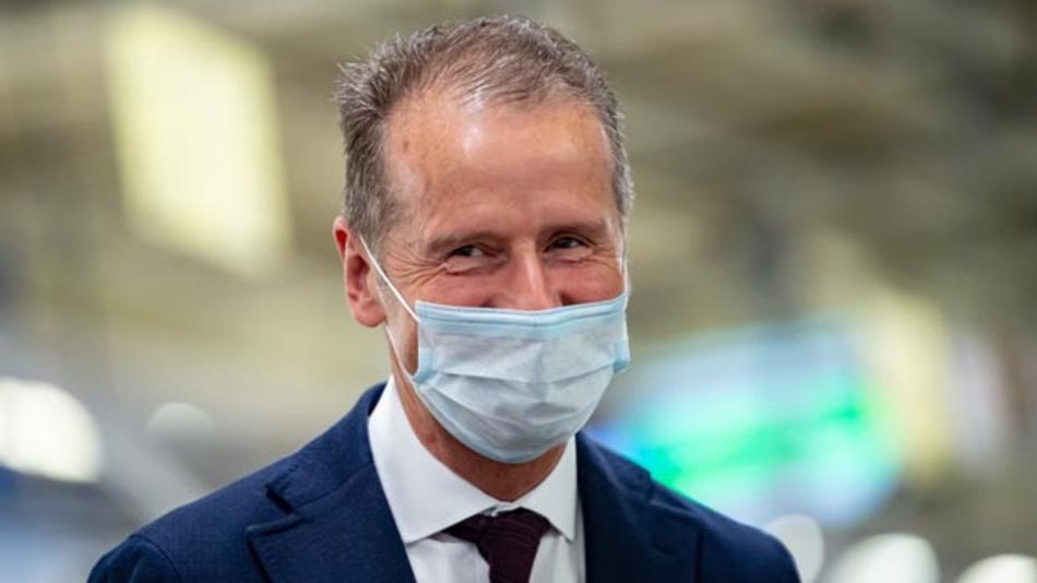 Volkswagen-Boss Herbert Diess fordert von der Politik eine möglichst rasche Entscheidung über Kaufanreize für Fahrzeuge im Rahmen der Corona-Krise.