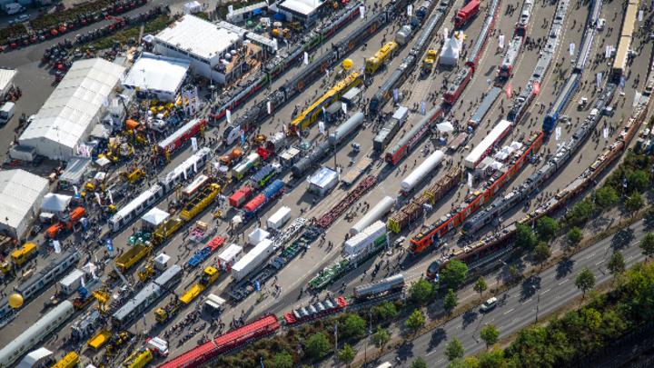 Die Bahntechnik-Branche muss nun bis 2021 auf ihren Branchentreffpunkt in Berlin warten.