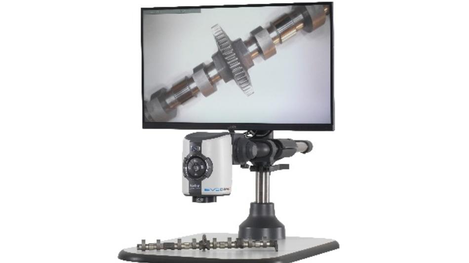 Das Digitalmikroskop EVO Cam II vereint eine intuitive und schnelle Bilderfassung mit smarter digitaler Inspektion und Dokumentation.