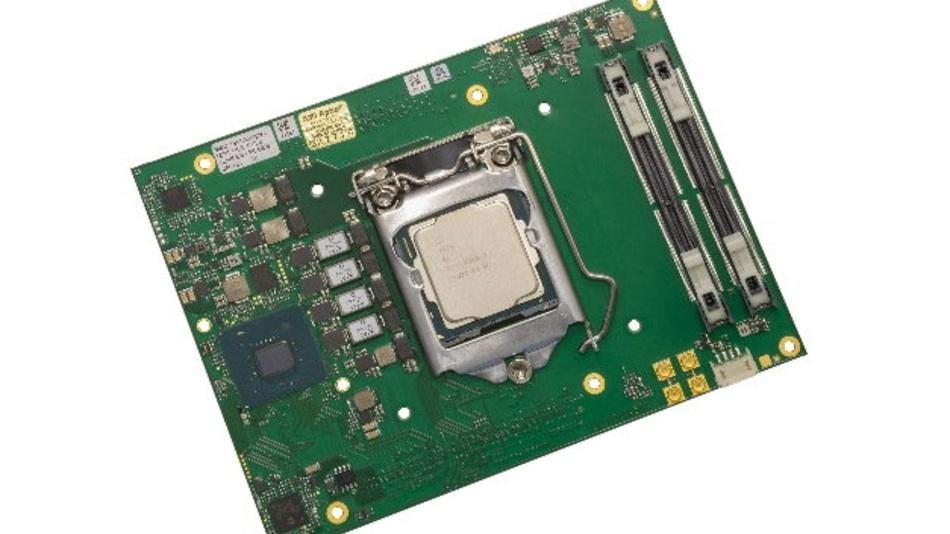 """Das Client-Modul """"MSC HCC-CFLS"""" ist das erste Mitglied der neuen COM-HPC-Produktfamilie."""