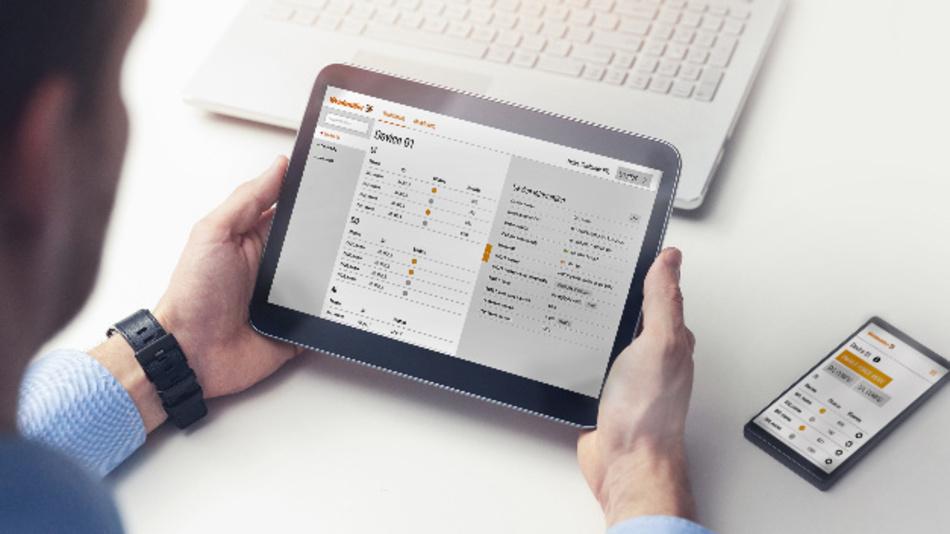 Das IoT-Terminal von Weidmüller: Visualisierung und Daten-Monitoring der verschiedenen Ports beispielsweise mit Statusanzeige und Zeitstempel.