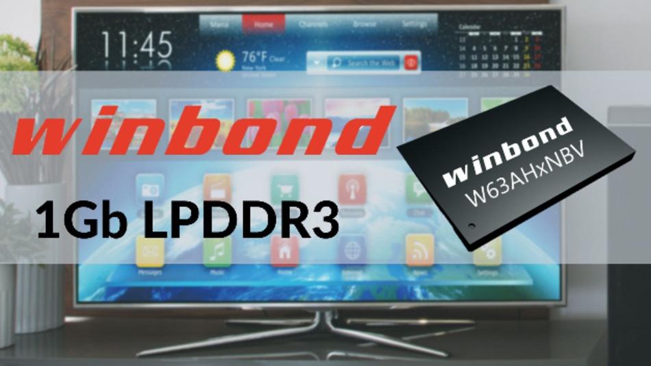 Die neuen 1-GBit-LPDDR3-DRAMs hat Winbond so ausgelegt, dass sie mit den neuen SoC-Generationen zusammen arbeiten können. Damit lassen sich neue KI- und IoT-Geräte, die bisher mit  LPDDR2-Versionen arbeiten, relativ kostengünstig und schnell aufzurüsten.
