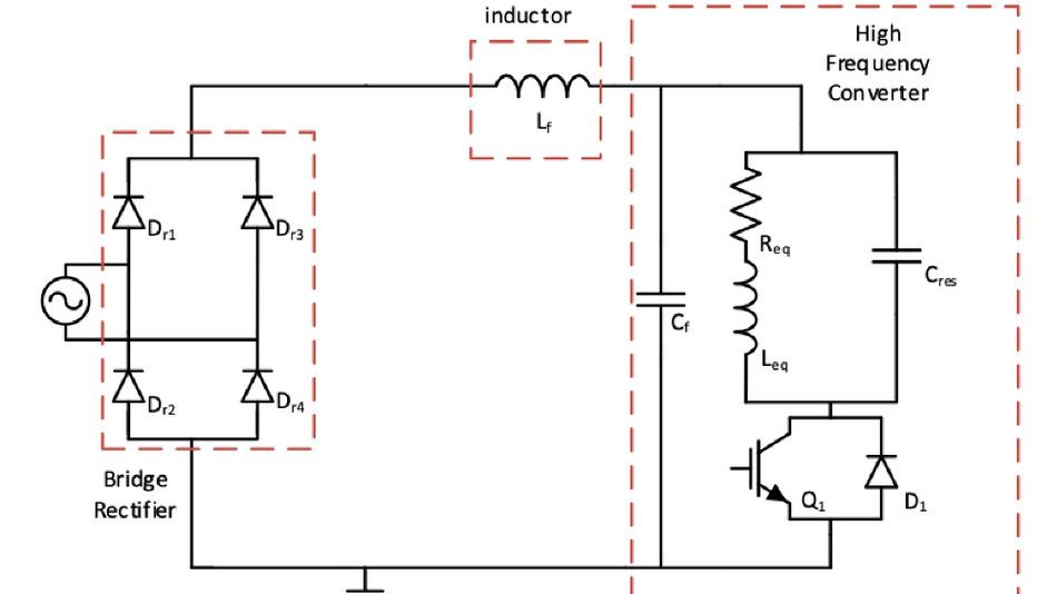 Designs mit induktiver Erwärmung und Leistungen bis zu 2,1 kW nutzen meist eine SEPR-Topologie.