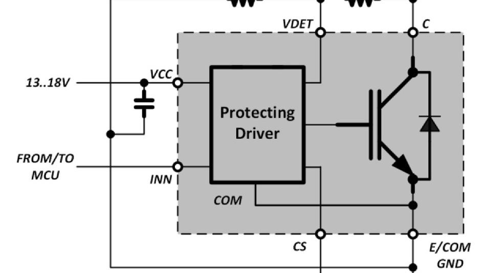 Geschützte IGBTs sind ideal für Anwendungen wie induktive Erwärmung und integrieren einen Treiber mit Schutzfunktionen.
