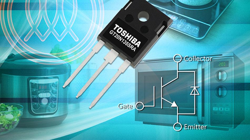 Auch Toshiba setzt auf Küchengeräte mit Induktion und bringt neue IGBTs für ein modernes und effizientes Power-Design heraus.