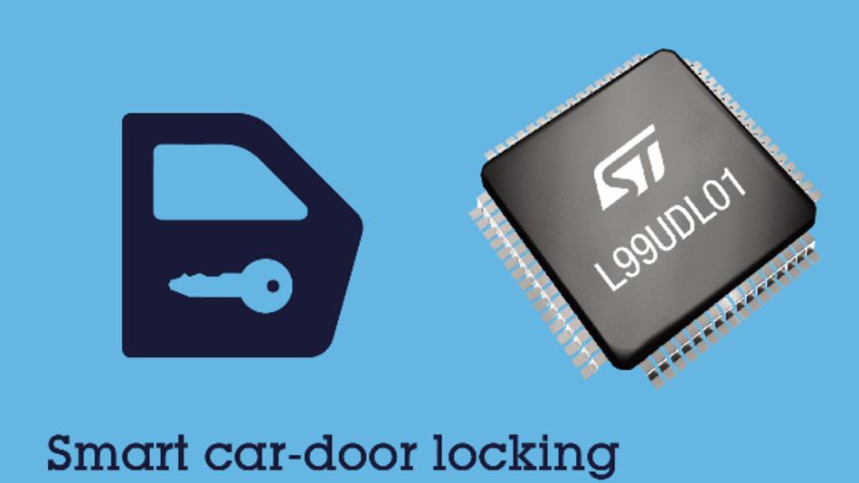 Der IC enthält eine spezielle Sicherheits-Funktion, die bei einem Unfall die normale Funktionsweise übersteuert, um Ersthelfern den Zugang zum Fahrzeug zu ermöglichen.