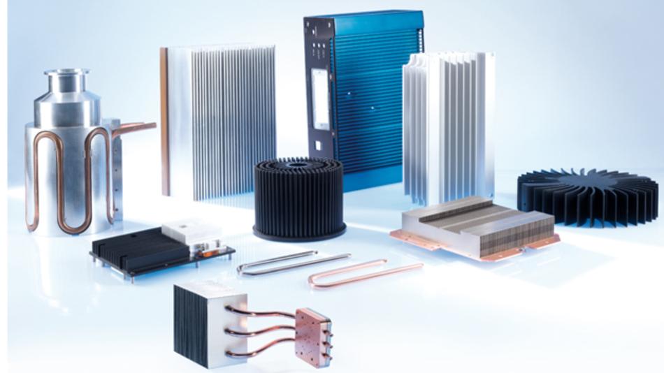 Bild 1: Eine Übersicht der Kühlkörper von CTX.