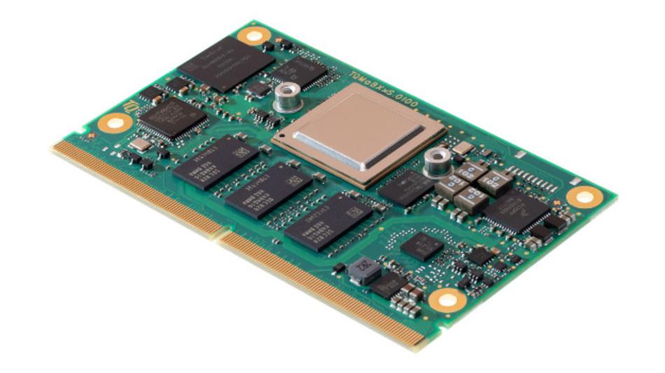 Das SMARC-Modul »TQMa8XxS01« auf Basis der neuen Prozessorfamilie von NXP.