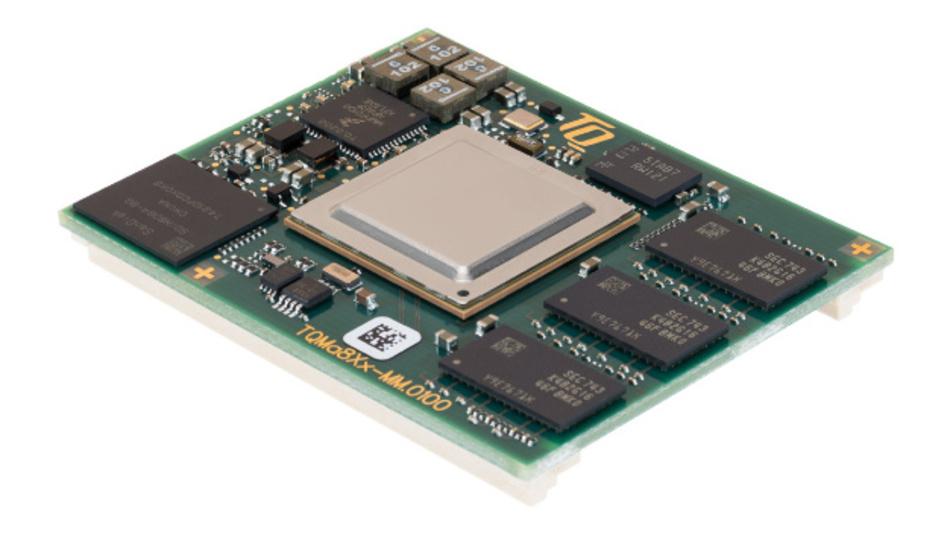 Das Embedded-Modul »TQMa8Xx«.