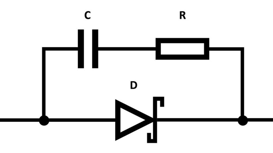 Der Kondensator in der Snubber-Schaltung lässt sich gegen eine Metallfilm-Ausführung  austauschen. Oder man erwägt den Einsatz eines größeren Widerstandes.