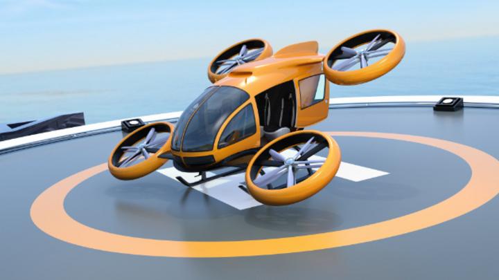 Elektrische und autonome Drohnen werden in Bruchsal getestet.
