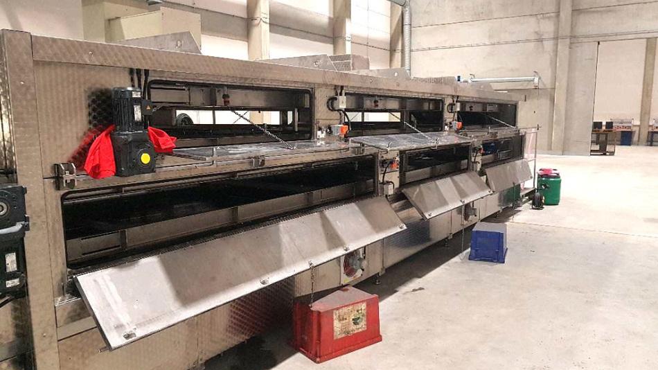 Automatisierte Recyclinganlage für Lithium-Ionen-Zellen