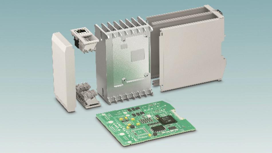 Bild 2: Kundenspezifisch angepasste Kühlkörper sorgen für eine zuverlässige Gehäuseentwärmung.