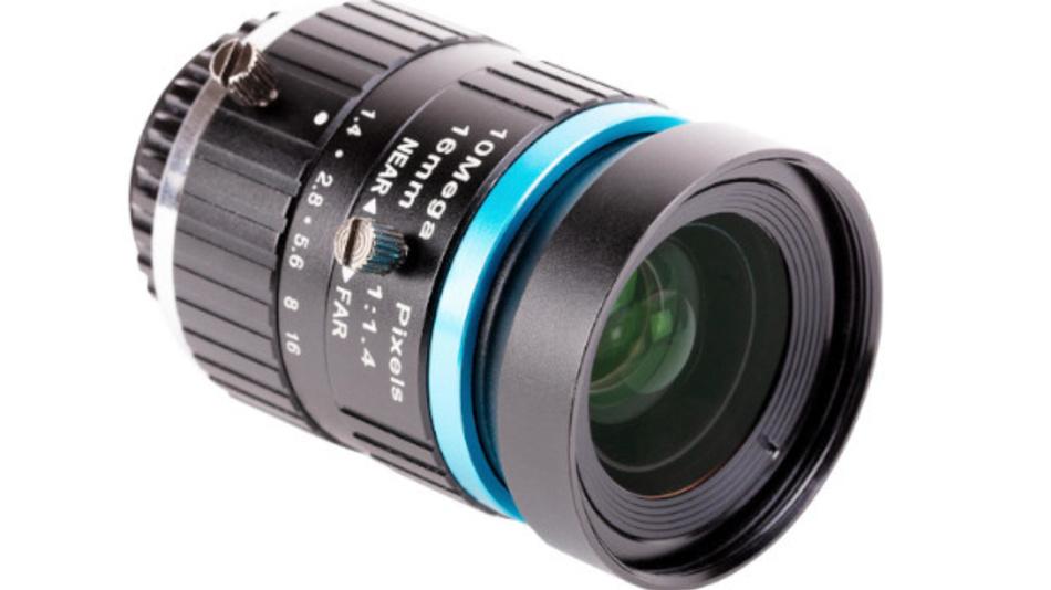 Das 16-mm-Teleobjektiv für den Raspberry Pi.