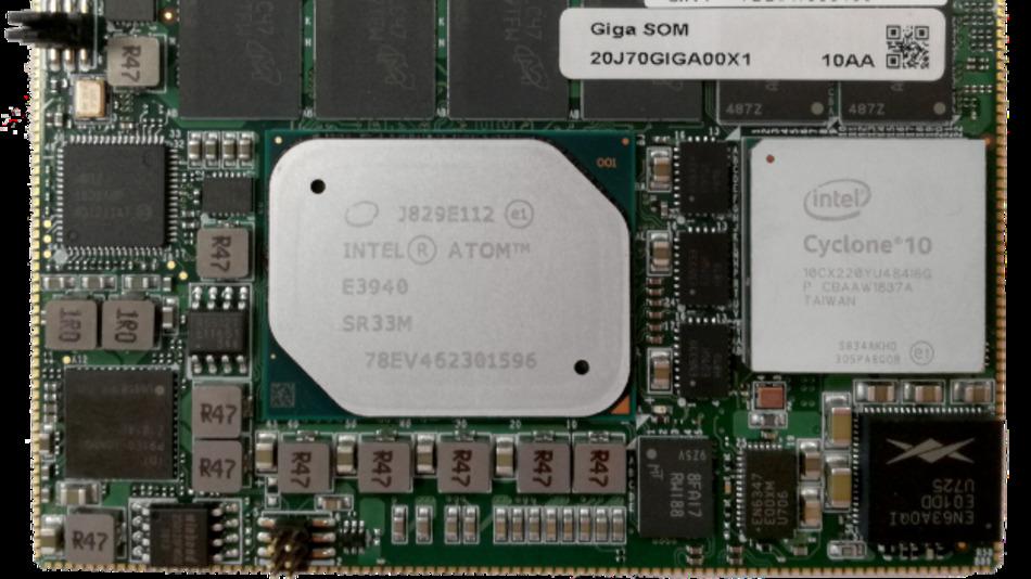 Energieeffizientes CPU/FPGA-Board unterstützt zeitgesteuerte Berechnung, Netzwerkbetrieb und Echtzeit-IoT für zeitkritische Smart-Factory-Anwendungsfälle