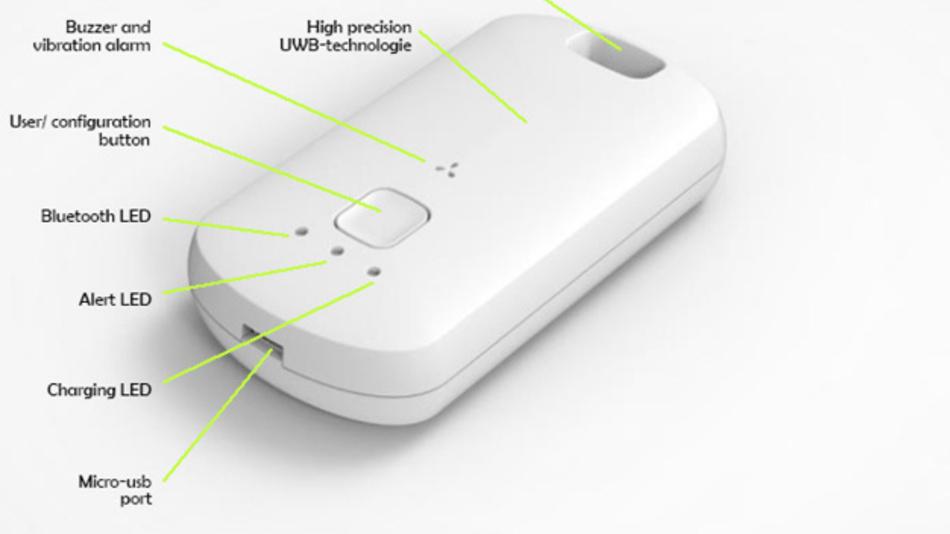 earable garantiert Privatsphäre durch Distanzmessung ohne Protokollierung oder Speicherung von Daten