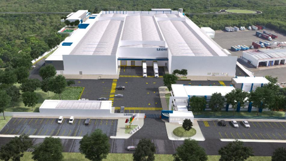 Am 30. November 2017 hatte Leoni seinen dritten Bordnetz-Standort in Merida/Mexiko eingeweiht.