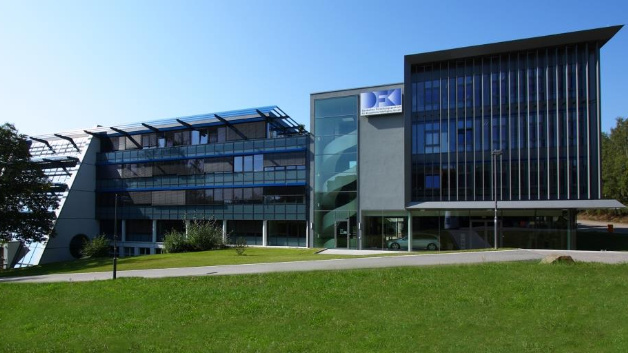 DFKI location Saarbrücken on the campus of Saarland University.