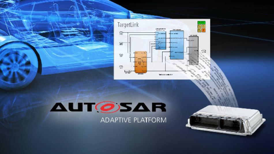 In der Version TargetLink 5.0 unterstützt der Seriencode-Generator nun erstmals den Adaptive-AUTOSAR-Standard.