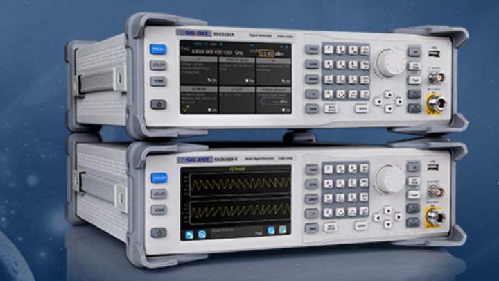 Signal- und Vektorsignalgenerator für Empfängertests bis ins 5G-NR FR1-Band.