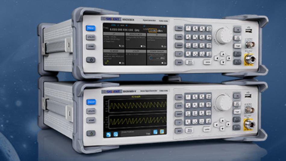 Signal- und Vektorsignalgenerator für Empfängertests bis 6 GHz.