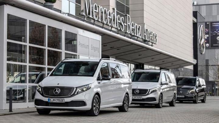 Der Verkauf für den Mercedes-Benz EQV ist gestartet.